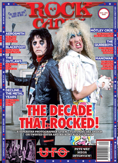 Issue 20 is available right now, featuring our fabulous cover of Dee Snider and Alice Cooper.