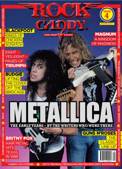 Diggin' our vintage Metallica cover of Issue 4!