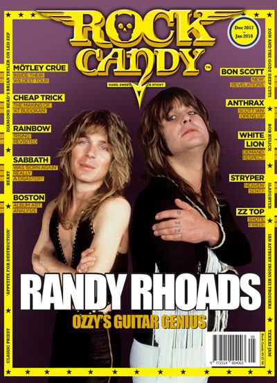Our cover pays homage to Randy Rhoads, one of rock's greatest ever guitarists.