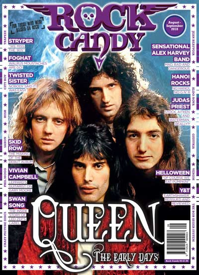Featuring 14 mega-pages of early Queen!