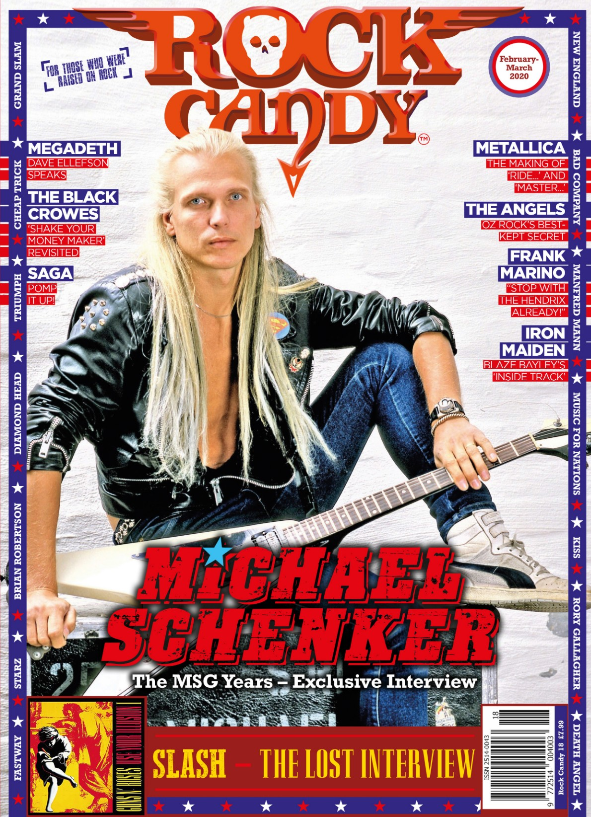 Issue 18 is available right now, featuring our Michael Schenker cover story mega-interview.