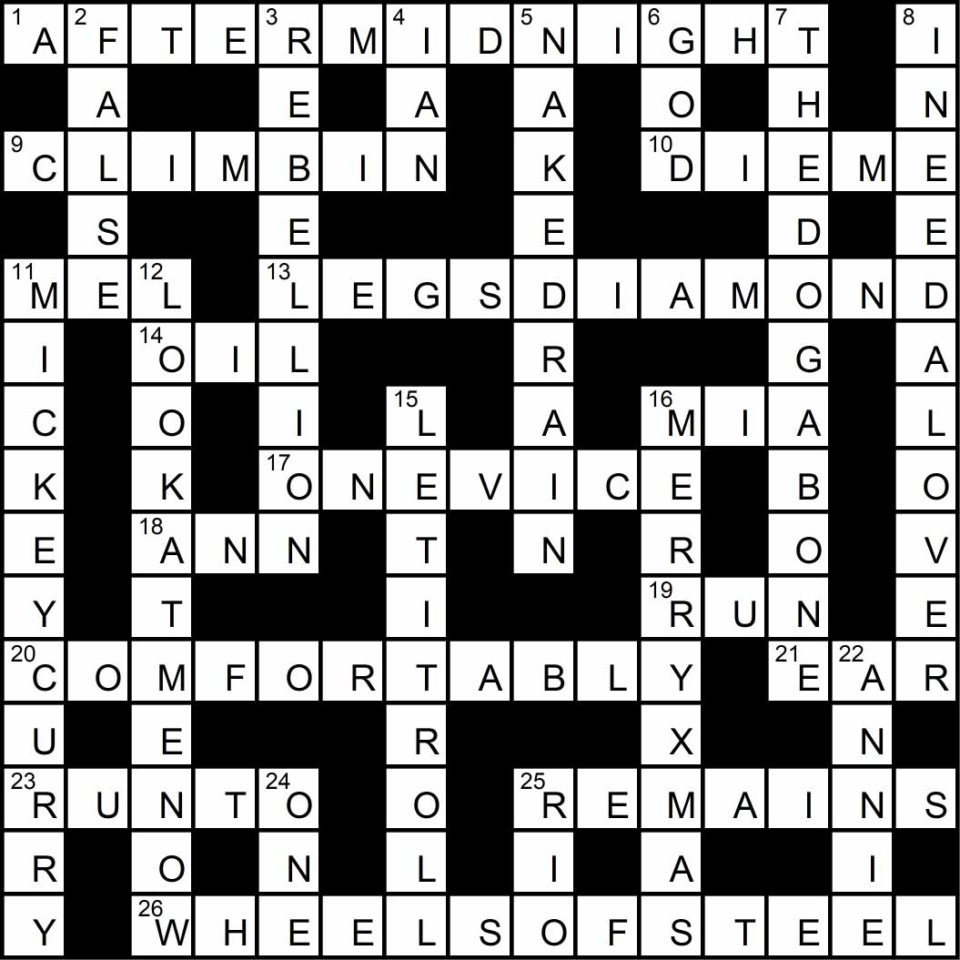 Crossword puzzle issue11