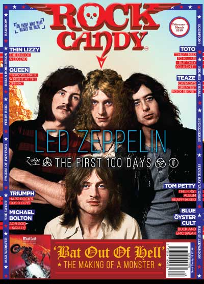 Featuring a bumper 14 pages of cover stars Led Zeppelin. To celebrate the 50th anniversary of the band's staggering debut album, we excavate the game-changing history of their first 100 days!