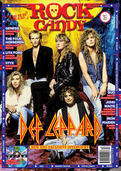 To celebrate their induction into the Rock & Roll Hall Of Fame we've gone totally OTT with page after page of Def Leppard!