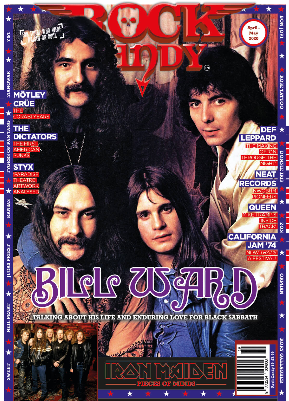 Issue 19 is available right now, featuring our Black Sabbath cover story interview with Bill Ward.