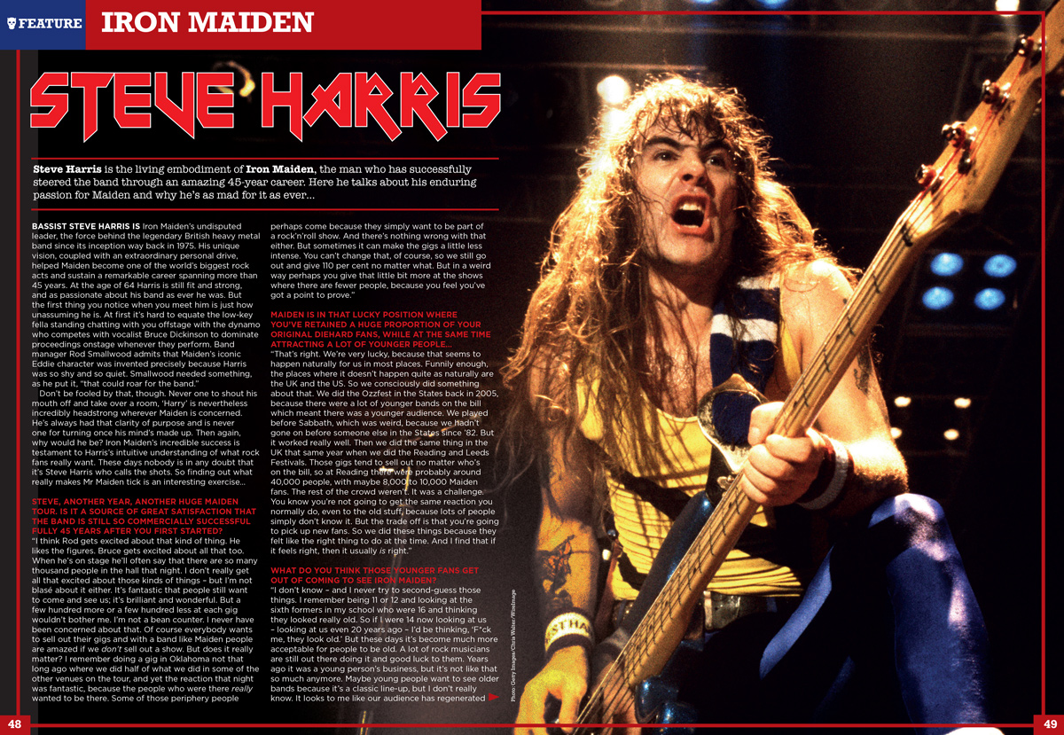 Rock Candy Mag brings you interviews with all six Maiden men!