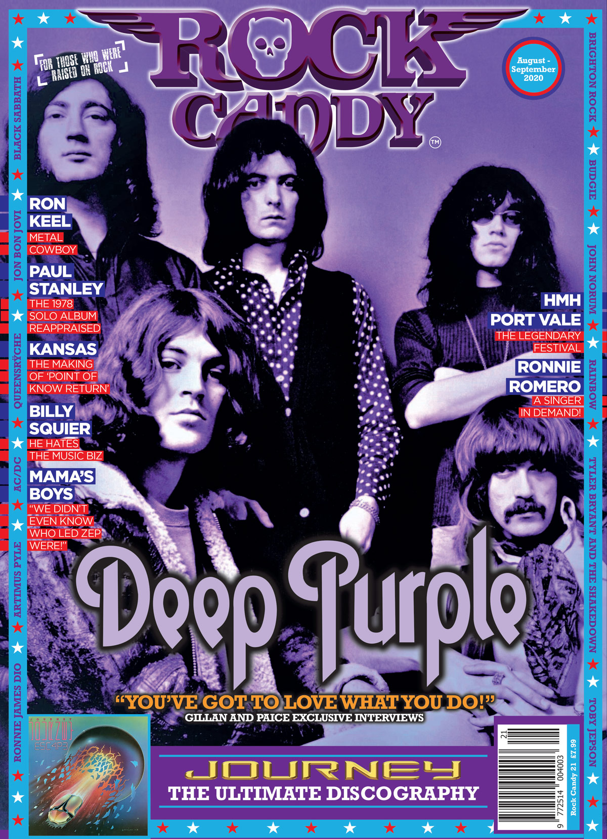 Rock Candy Magazine Opening Page